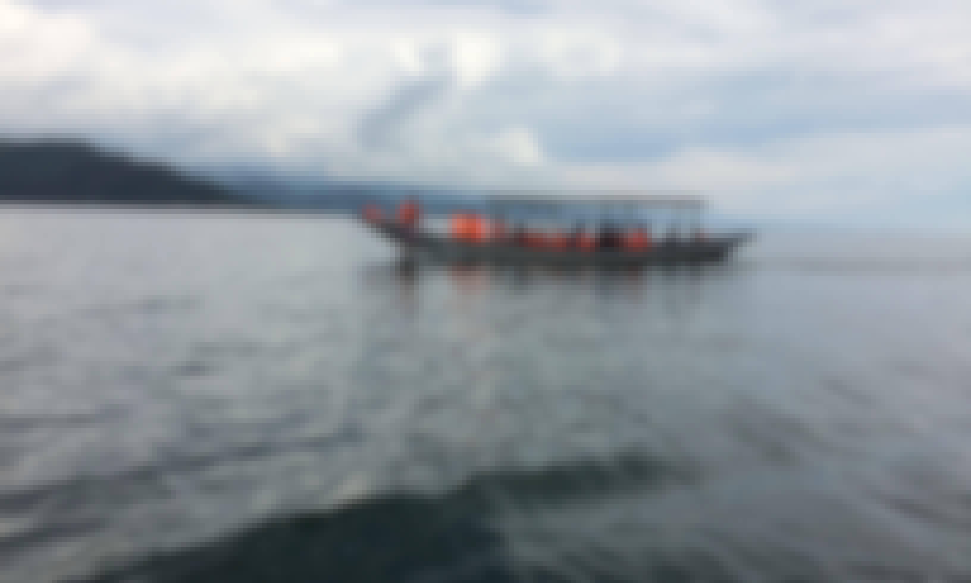 Boat tour in Lake Kivu, Gisenyi