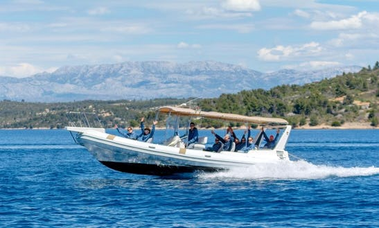 Rent A 12 Person A Rigid Inflatable (rib) Boat In Split, Croatia
