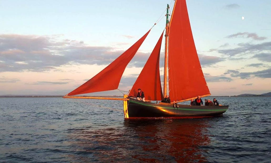 Enjoy Private Boat Tour On Traditional Handcrafted Hooker Boat In Galway, Ireland