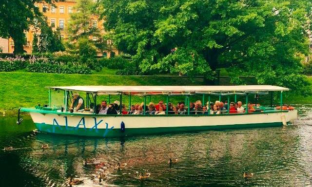 "Charter ""Galaxy"" Canal Boat in Rīga, Latvia"