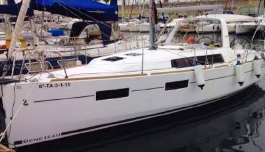 Charter Beneteau Oceanis 35 Sailboat In Costa Brava, Spain