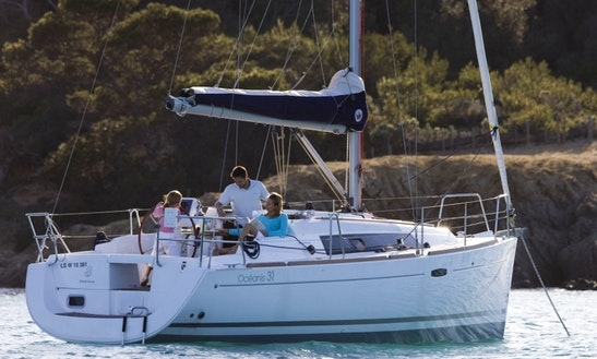 Charter This Beneteau Oceanis 31 Sailboat In Costa Brava, Spain