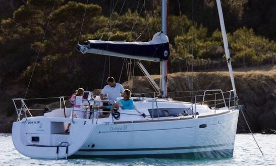 Charter This Beneteau Oceanis 31 Sailboat In Costa Brava, Spain