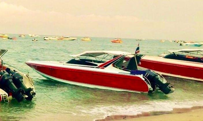 Charter a Motor Yacht in Pattaya, Thailand