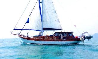 Charter a Gulet in Phang Nga Bay, Krabi