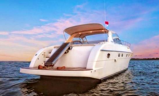 Charter 116' Sakura Tb V Power Mega Yacht In Kuta Selatan, Indonesia