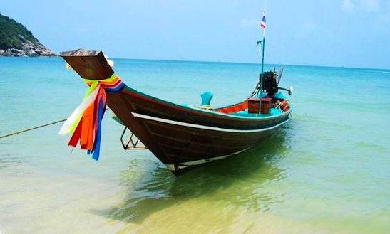 Charter A Long Tail Boat In Aonang Krabi, Thailand