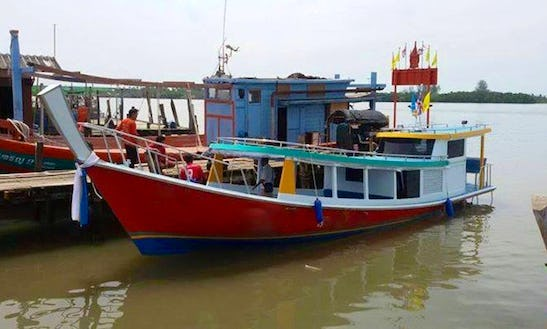 Charter A Longtail Boat In Krabi, Thailand