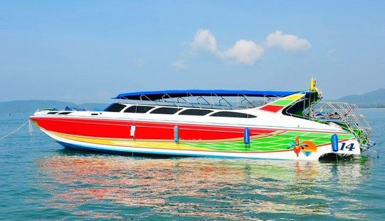 Charter A Five Engine Motor Yacht In Krabi, Thailand
