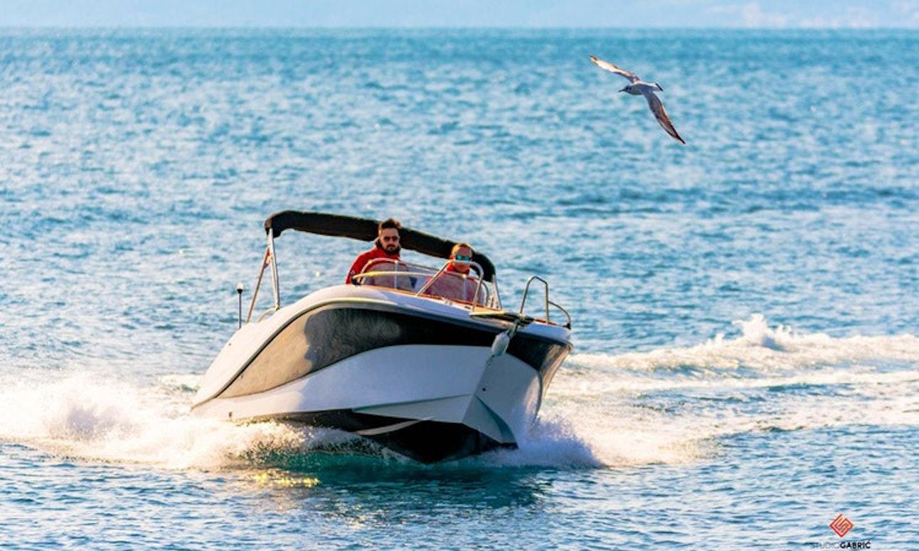 motorboat rental in Croatia