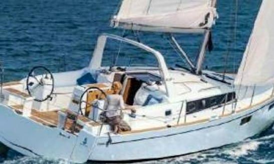 Charter Beneteau Oceanis 38.1 Sailboat In Torroella De Montgrí, Cataluña