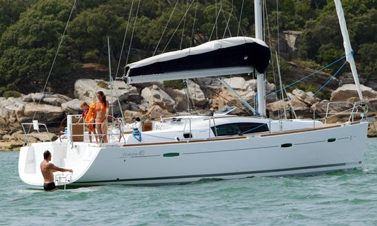 Charter Beneteau Oceanis 40 Sailing Yacht In Barcelona, Spain