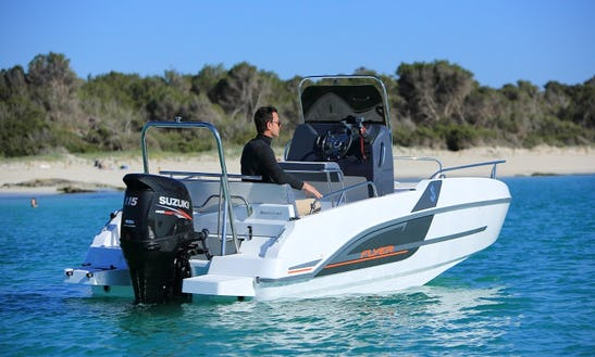 Rent The Flyer 5.5 Sundeck Powerboat In Cambrils, Catalunya