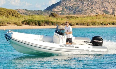 Rent 18' Mar Sea Rigid Inflatable Boat in Marciana Marina, Italy