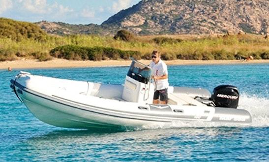 Rent 18' Mar Sea Rigid Inflatable Boat In Marciana Marina, Italy