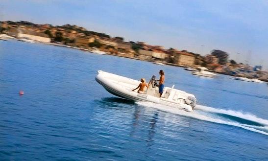 Rent 19' High Marea Rigid Inflatable Boat In Marciana Marina, Italy