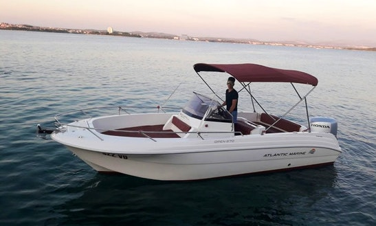 Rent 22' Atlantic 670 Open Center Console In Tribunj, Croatia