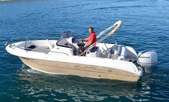 Rent 22' Baco Iii Center Console In Tribunj, Croatia