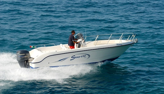 Rent 23' Saver Center Console In Marciana Marina, Italy