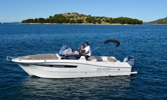 Rent 24' Baco Ll Motor Yacht In Tribunj, Croatia