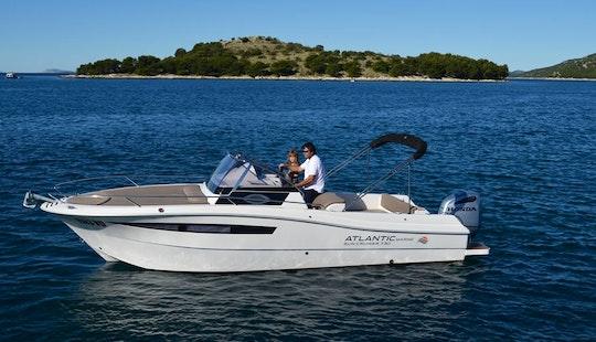 Rent 24' Baco Ll Motor Yacht In Tribunj, Croatia