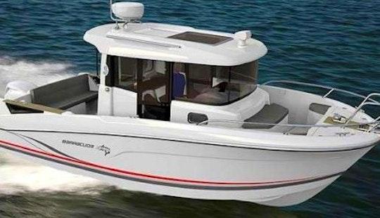 Rent 21' Beneteau Barracuda 7 Boat In Barcelona, Spain