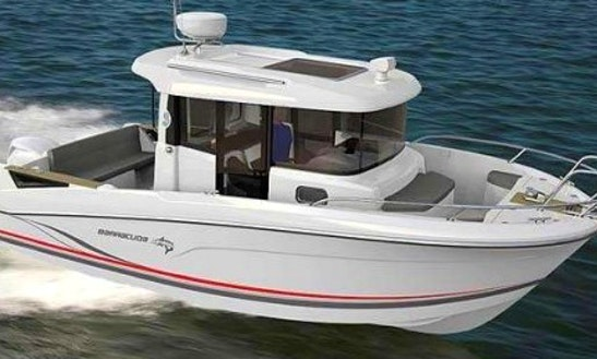Rent 21' Beneteau Barracuda 7 Boat In Barcelona, Spain
