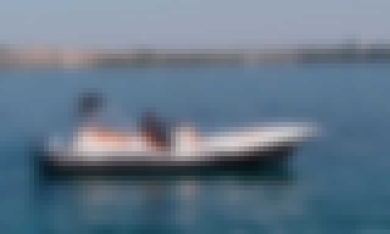 Rent 24' ZAR 75 Rigid Inflatable Boat in Tribunj, Croatia