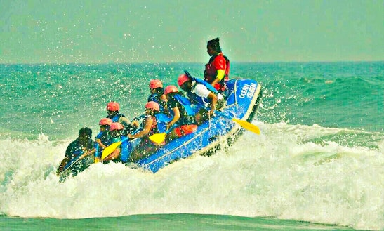 Enjoy Rafting In Kappil, Kerala
