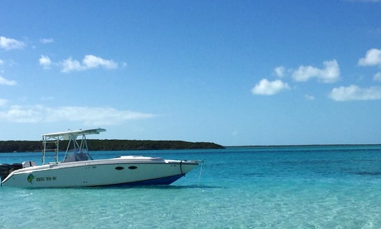 Enjoy Fishing In  Exuma, Bahamas On 33' Reel 'em In Center Console