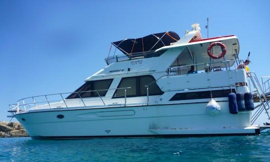 Charter A Motor Yacht In Crete, Greece