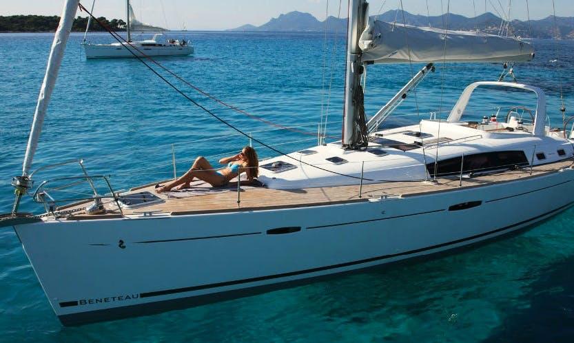 Rent 50' Beneteau Oceanis Cruising Monohull in Lefkada, Greece