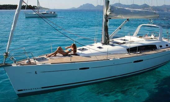 Rent 50' Beneteau Oceanis Cruising Monohull In Lefkada, Greece