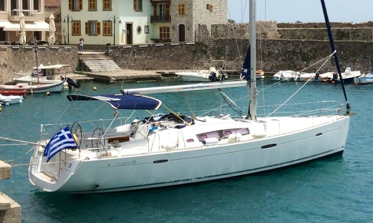 Rent 46' Beneteau Oceanis Cruising Monohull in Lefkada, Greece