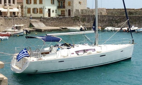 Rent 46' Beneteau Oceanis Cruising Monohull In Lefkada, Greece