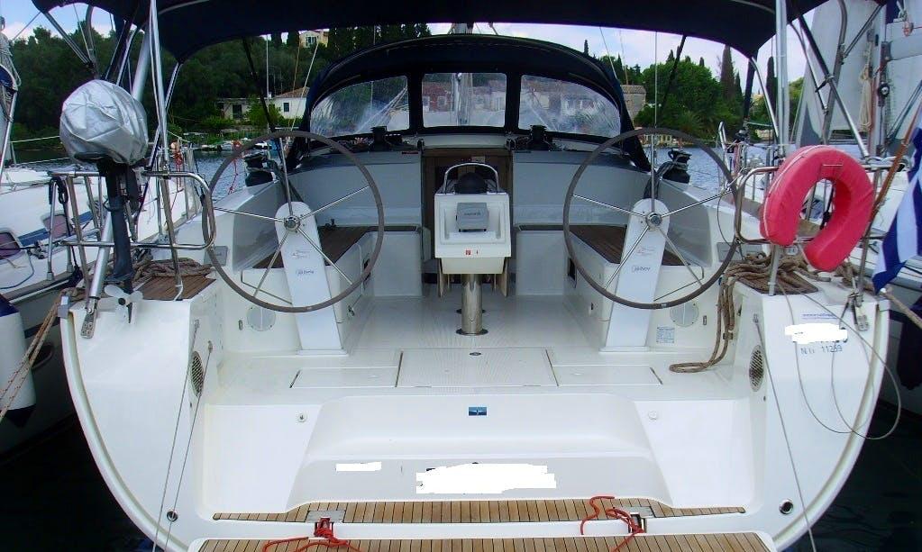 Charter this amazing 46' Bavaria Sailing Monohull in Lefkada, Greece