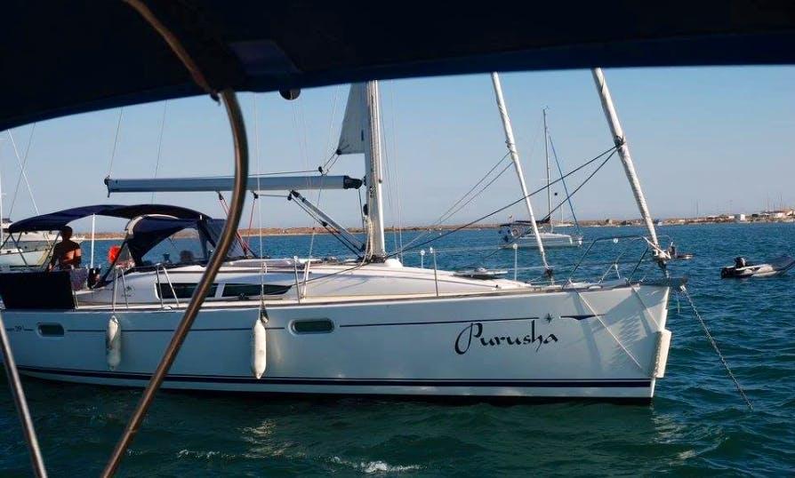 Charter a Purusha Cruising Monohull in Lisboa, Portugal
