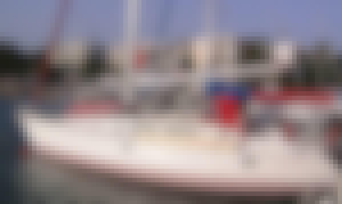 Rent 37' Jeanneau Sun Odyssey Cruising Monohull in Lefkada, Greece