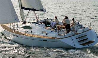 Charter 55' Sun Odyssey 54DS Cruising Monohull in Sukošan, Croatia
