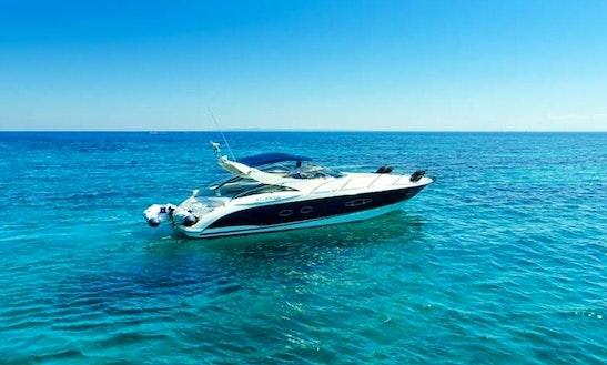 Charter 39' Azimut Motor Yacht In Zakinthos, Greece