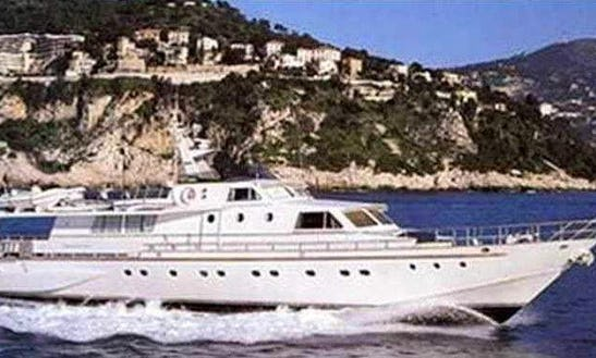 85ft Baglietto 26m Power Mega Yacht Cahrter In Fiumicino, Italy