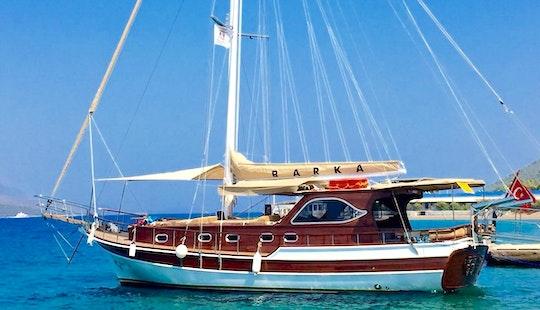 Charter 52' Sidelya Barbaros Gulet In Bodrum, Mugla