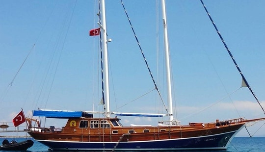 Charter 72' Barka Barbaros Gulet In Bodrum, Mugla