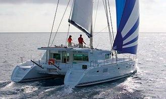 Charter 51' Penteris II Cruising Catamaran in Sukošan, Croatia