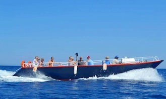 19 person boat cruise in Agios Nikolaos, Greece for 3 hours