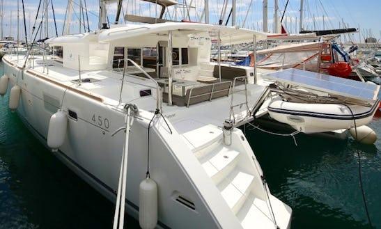 Charter 46' Lagoon 450 Cruising Catamaran In Sukošan, Croatia