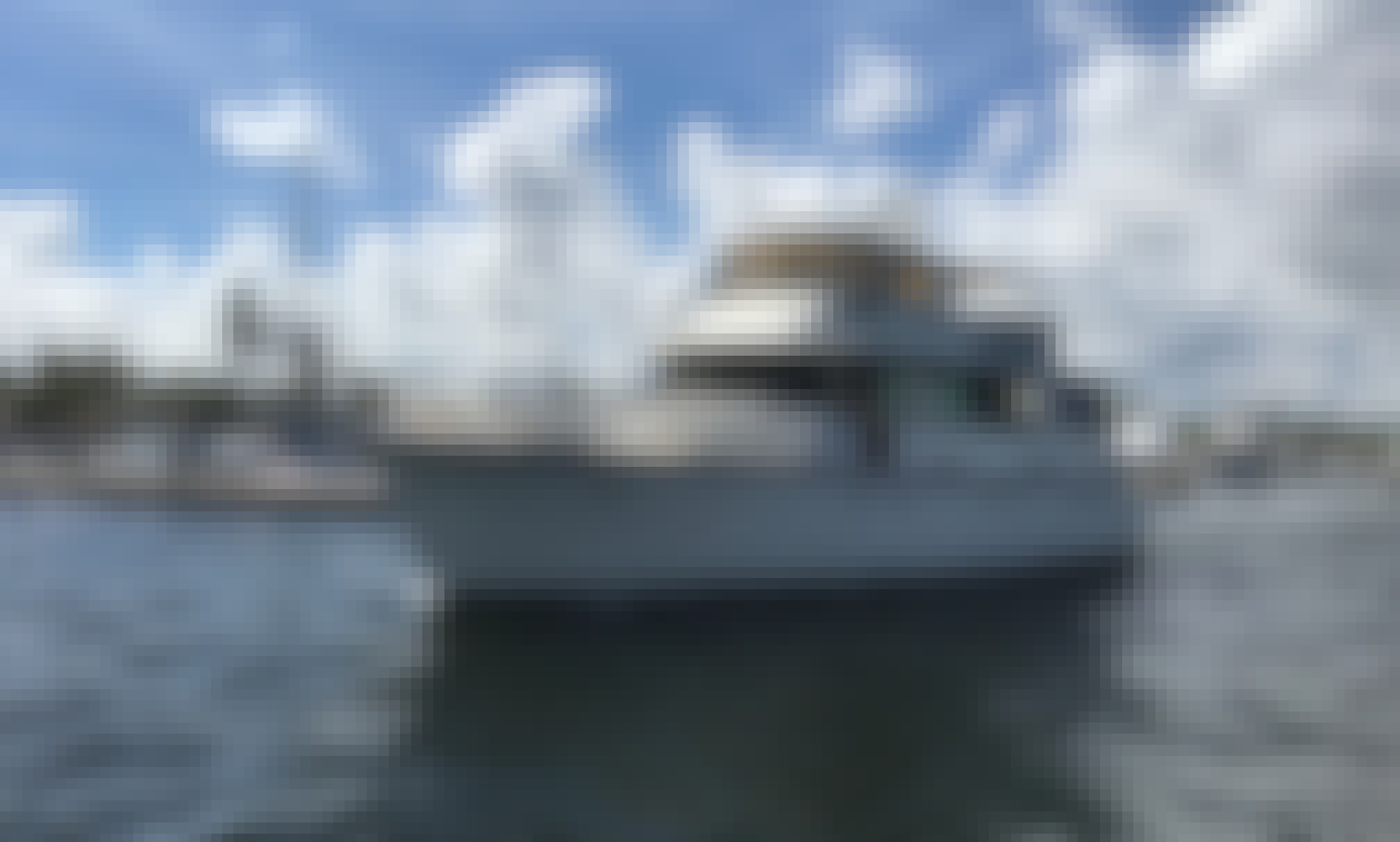 """Charter the """"Entertainer"""" Luxury Motor Yacht in Naples, FL"""