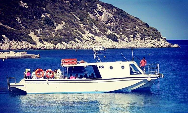 55 Person boat tour from Marina Ag Nikolaou  located in Agios Nikolaos, Greece