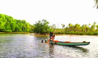 Rent a Row Boat in Poovar, India