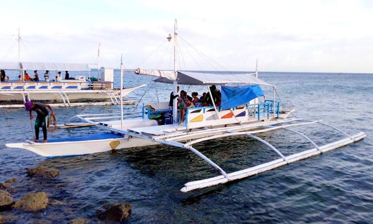 Compy and Fun Traditional Boat for Rent in Cordova, Philippines!
